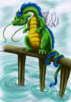 DAVE the DRAGON by Timatae