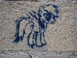 rainbow dash stencil by Pietas