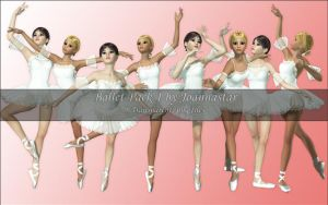 Ballet Pack 1 by joannastar-stock