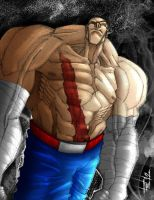 Sagat by Felipe-Rodrigues