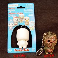 Munny Style Zombie Keychain C by Undead-Art