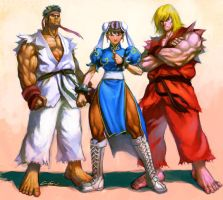 street fighter by cuson