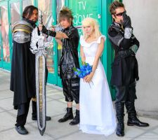 Final Fantasy XV group by chaosnorder