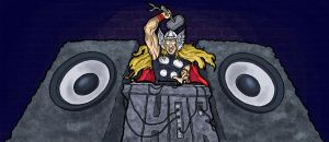DJ Thor:Breakbeat God of Thndr by dkdelicious