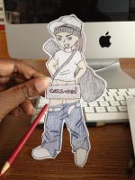 Tom Kaulitz Paper Child by Kana-of-the-Flames