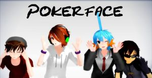 MMD Pokerface (Skyarmy edition) LINK by KakuzuFreak