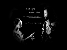 The Hound + the Wolfbird by JABanese