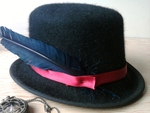 old handmade top hat by KonwhaldAndDrowette
