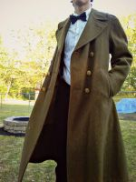 Eleventh Doctor coat porn by CptTroyHandsome