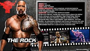 WWE The Rock ID Wallpaper Widescreen by Timetravel6000v2
