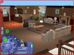 Sims 2 Living room by Anime210freak