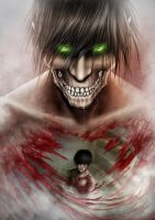 Death Seeker-Eren Jaeger by AnetaChalimoniuk