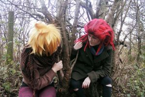 Axel and Roxas~ Alone by AplaceforGil