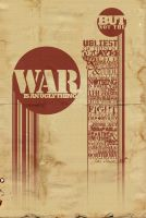 Typography Prompt: War by bella-elizabetta