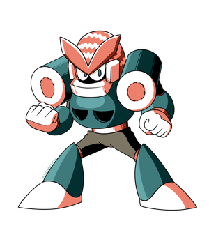 Mega Man Unleashed - PKN - 009 - Sushi Man by TEHTACOMAN12321