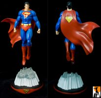 Superman final paints by AYsculpture