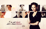 BBC Sherlock Wallpaper - Irene by Sidhrat