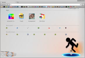 Simple Portal Chrome Theme by Mulsivaas