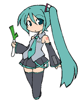 akita neru with miku colours by pinkirlia