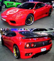 Rosso Modena Supercar by toyonda