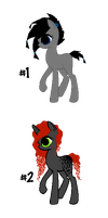 Song Inspired Pony Adoptables- Cryptex by Dalli-Epic-Adopts