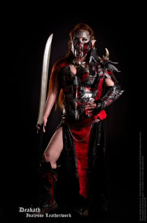 Photoshoot 2013 : Chaos Female Armor by Deakath