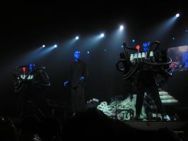 Blue Man Group by Anachronist84
