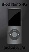 Vector iPod Nano 4G by Andy202