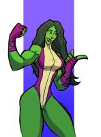 THERE IS A REASON WHY THEY CALL ME SHE HULK by Sabrerine911