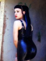 Pose In Latex by QueenVamp1