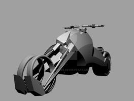 Front View, Motorcycle design by TOASTme69
