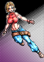 Blue Mary color by mangapym