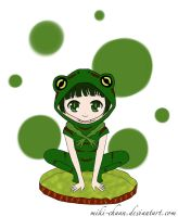 7 Days Color Challenge - Day 4: Green by miki-chaan