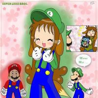 Super Luigi Bros. by EV133