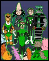 Green Lantern:  New Recruits by Lordwormm