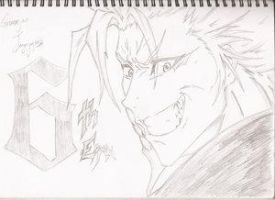 grimmjow by sketch3000 by Grimmjow-FC