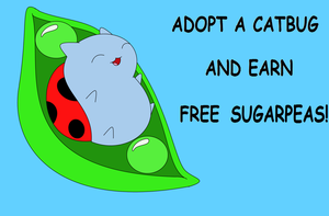 Catbug for Adoption! by TheUnconsciousArtist