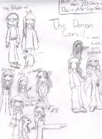 Demon Council and others by ChuSaborashi