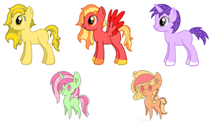 Adoptables adopted from goldbullet by Yuseichan