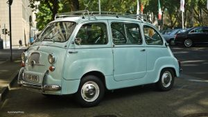 Fiat 600 multipla by ShadowPhotography