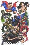 Big Guns JLA by olybear