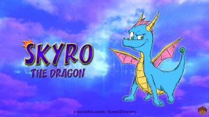 Skyro the Dragon by AnutDraws