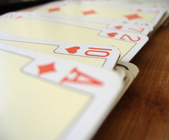 Playing cards by geekchix