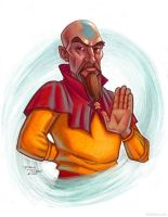 Tenzin by danidraws