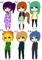 Human-Adoptables 3 OPEN by AmayaBlack