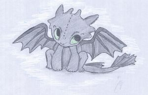 Toothless by GabyLuvsChocolate