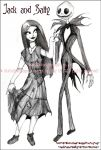 -Jack And Sally- by disturbed-angel