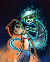 Danny Phantom :O by DymasyaSilver