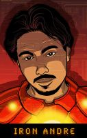 DRAW ME: Andre Iron Man by PaulSizer