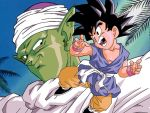 Goku and Piccolo Color by RuokDbz98